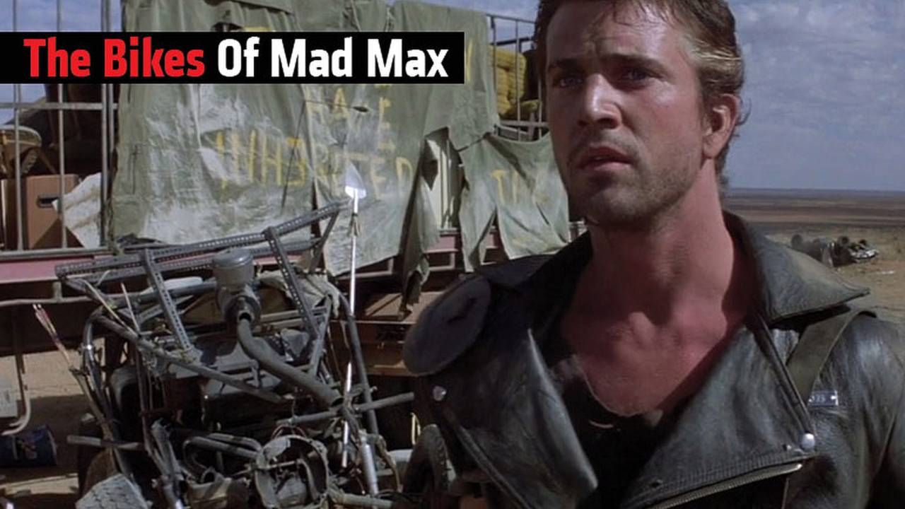 The Bikes Of The Mad Max Trilogy.