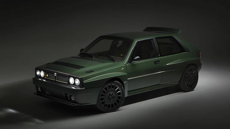 Lancia Delta Futurista Revises The Rally Icon For Exorbitant Price