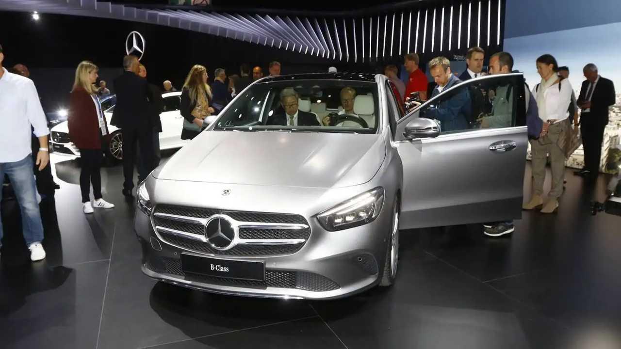 Mercedes Clase B 2019 en el salón de París 2018