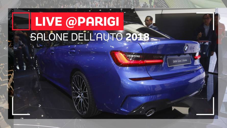 Salone di Parigi, BMW Serie 3 è ufficialmente