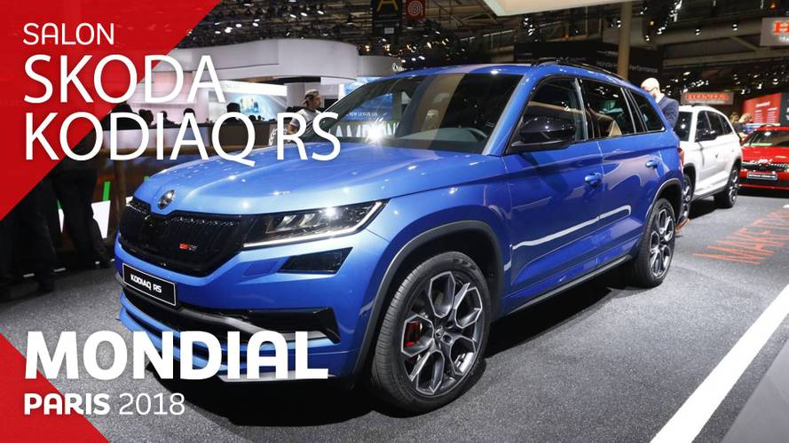 VIDÉO - Le Škoda Kodiaq RS en direct du Mondial 2018