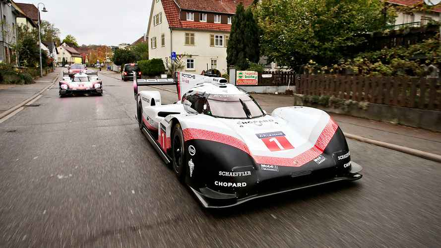 Porsche 919 Makes Final Drive On Public Roads Before Heading To Museum