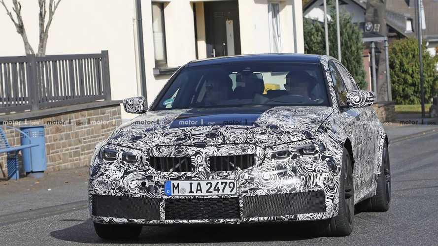 BMW M3 2020 - Novos flagras