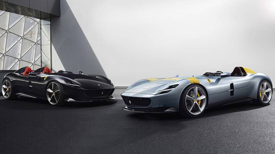 Retro Ferrari Monza V12 speedsters revealed