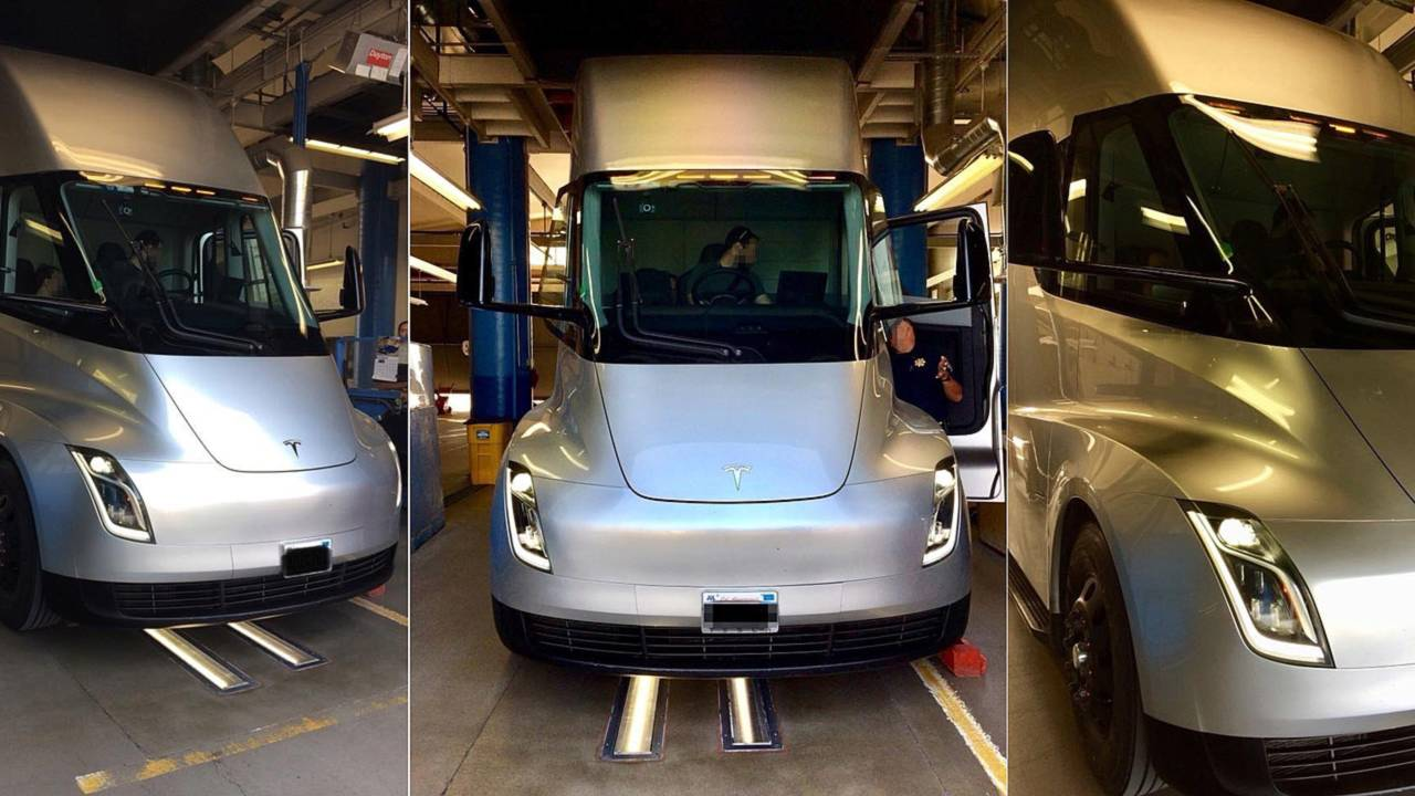 Tesla Semi Inspection
