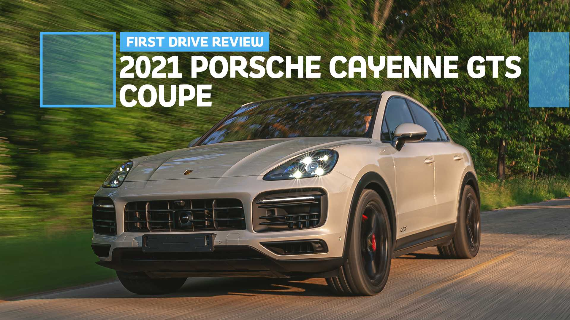 2021 Porsche Cayenne Gts Coupe First Drive Review Another Great Gts