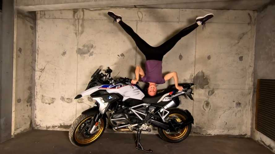 No Gym, No Problem: Lift Your Motorcycle Instead!