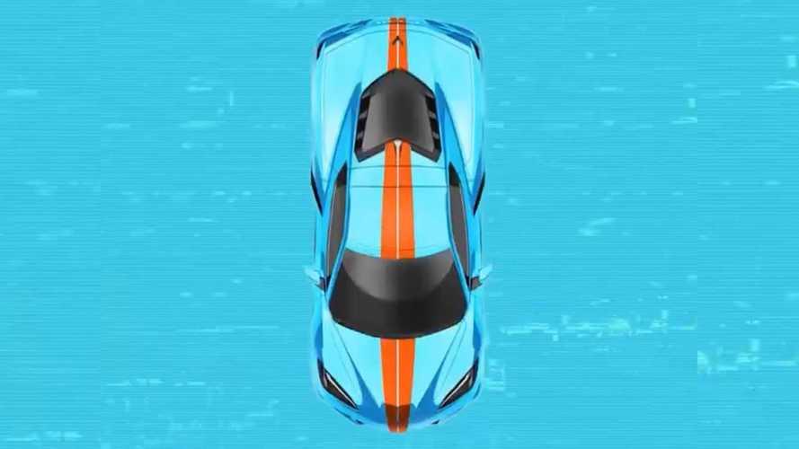 Chevrolet опубликовала загадочный тизер нового Corvette