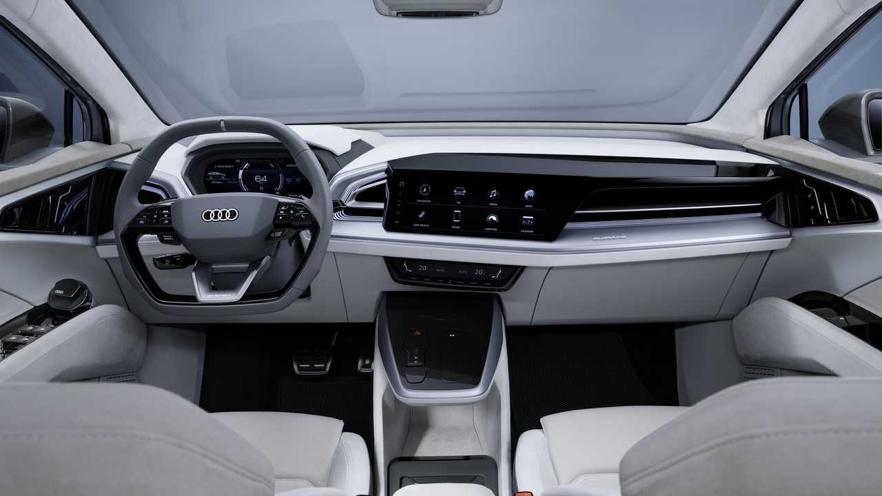 Audi Q4 Sportback E-Tron Concept Coupe-szerű testet kap az EV család növeléséhez