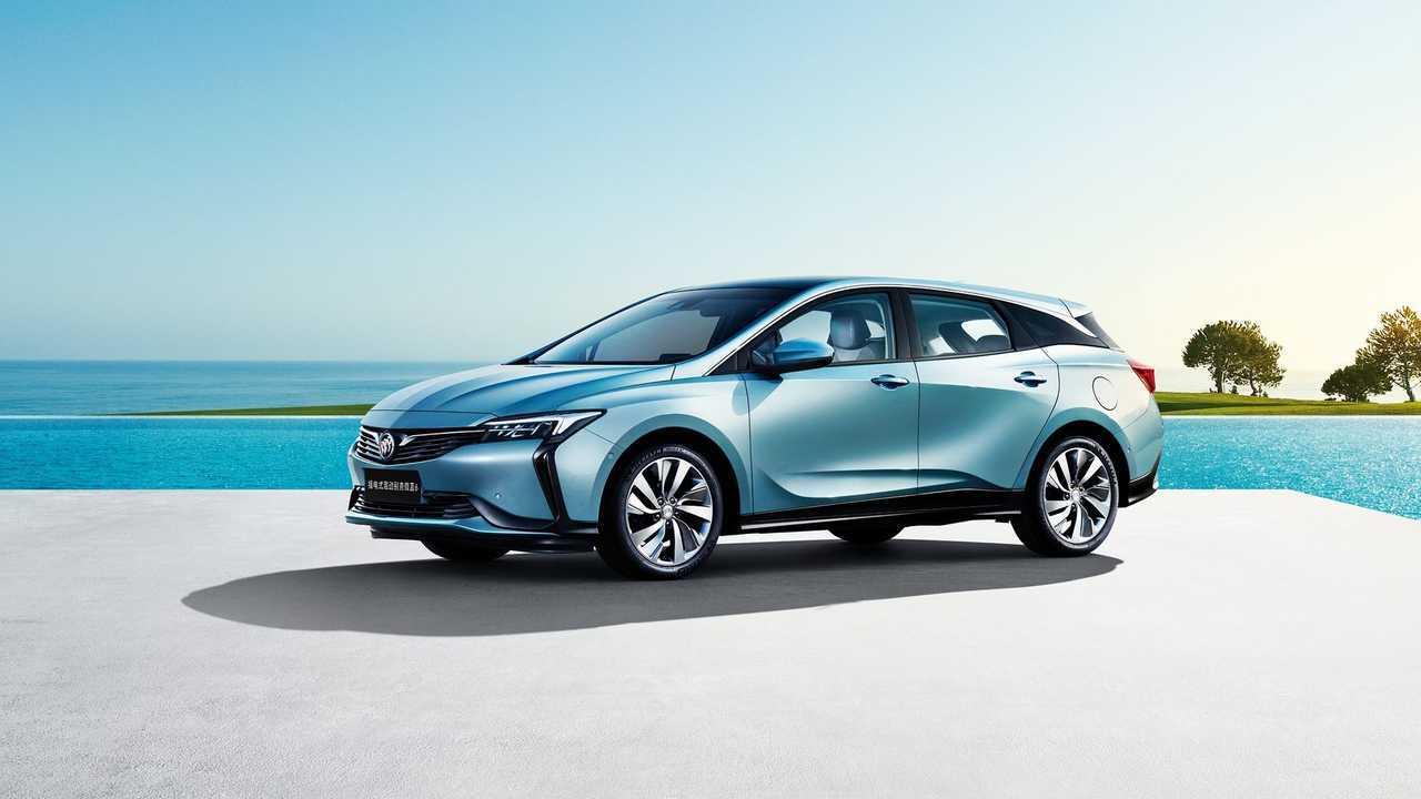 Buick VELITE 6 plug-in hybrid electric vehicle