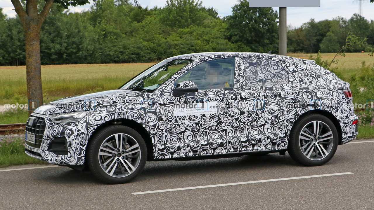 2021 Audi Q5 Sportback Spion Fotos