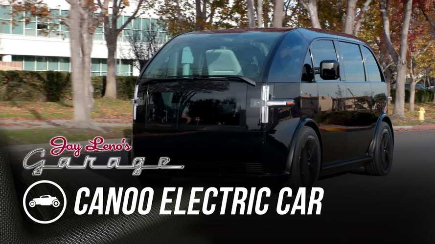 Jay Leno Is Impressed After Ride And Drive In New Canoo EV People Carrier