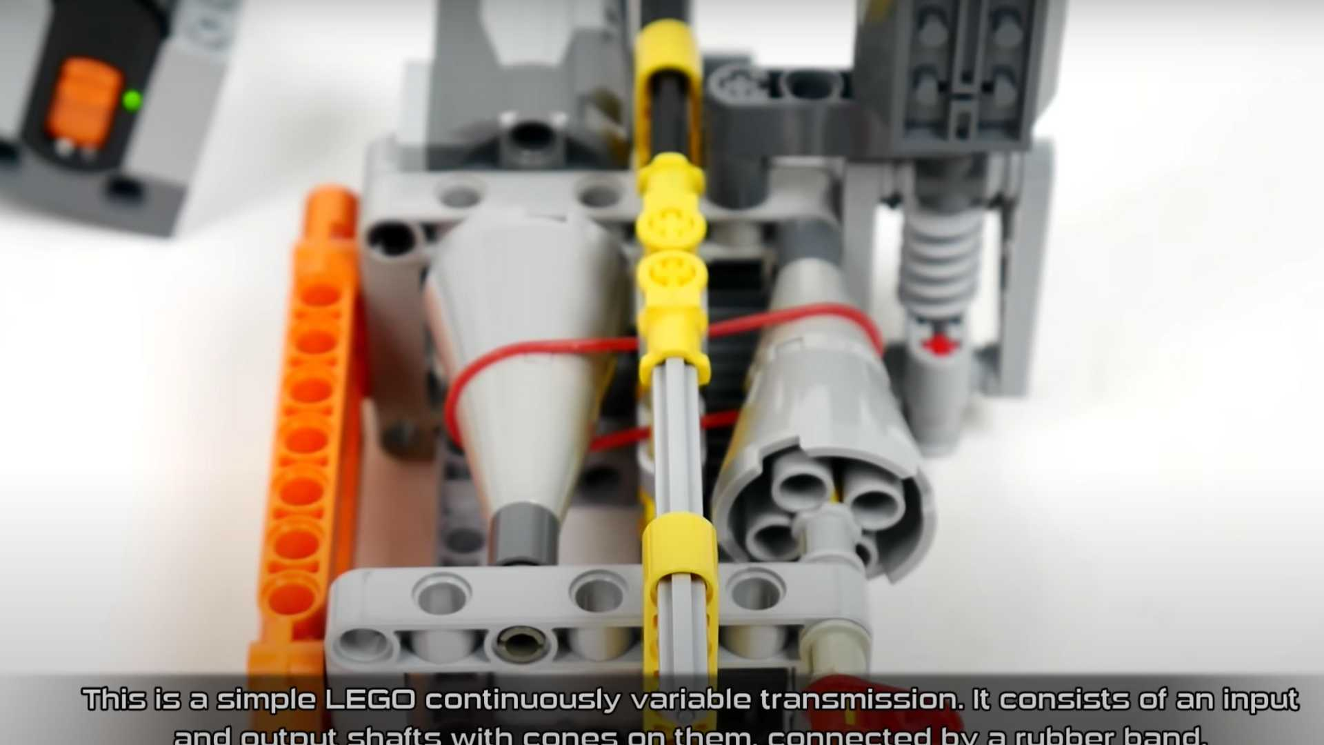 Here S How A Cvt Transmission Works Using Only Legos