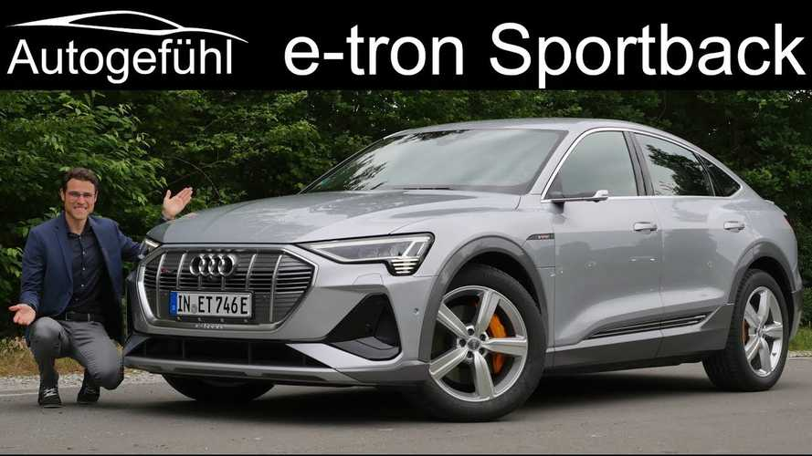 This Audi e-tron Sportback Review Goes Really In-Depth