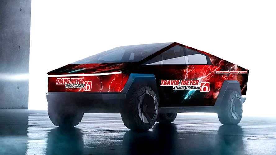 Tesla Cybertruck Imagined As Ultimate Storm & Tornado Chaser