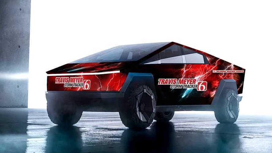 Tesla Cybertruck Imagined As Ultimate Storm & Tornado Chaser