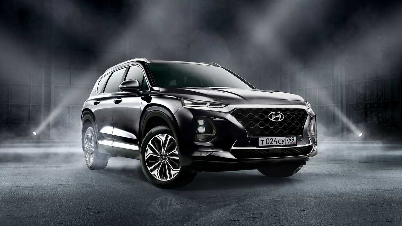Экстерьер Hyundai Santa Fe Black&Brown (2020)