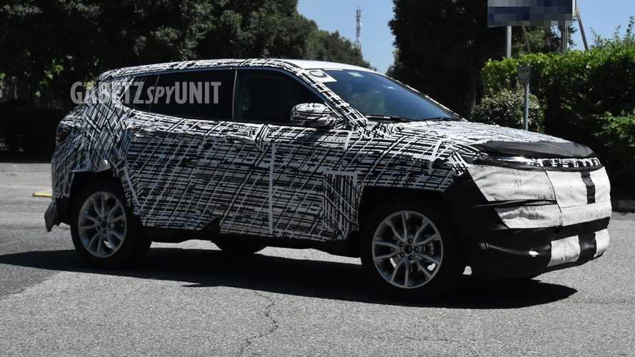 2022 Jeep Compass Spy Shots