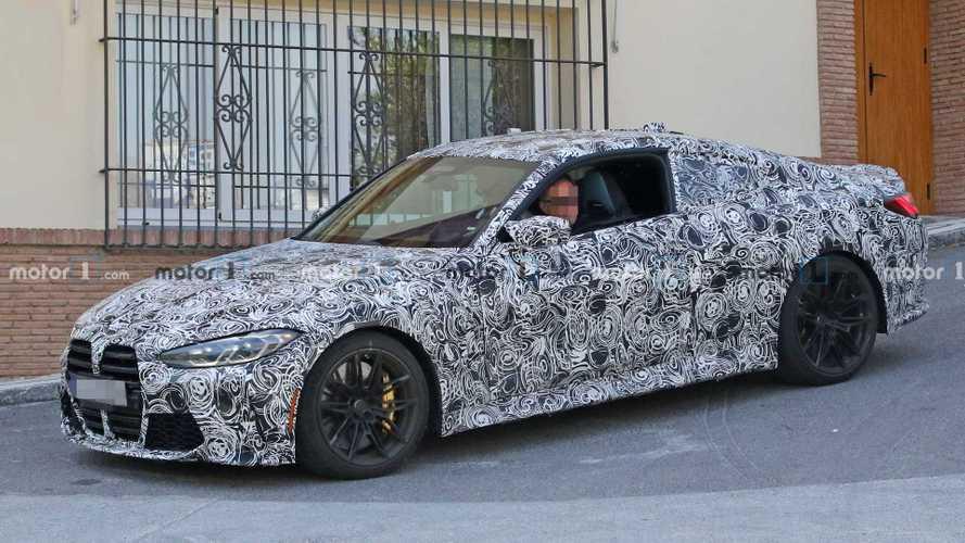 2020 BMW M4 Coupe, tartışma yaratan ızgarası ile görüntülendi