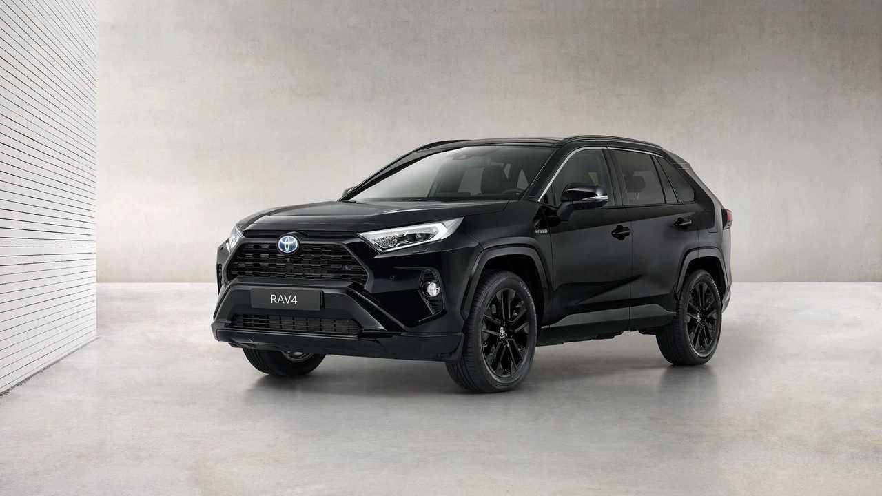 Toyota RAV4 Hybrid Black Edition - 3/4