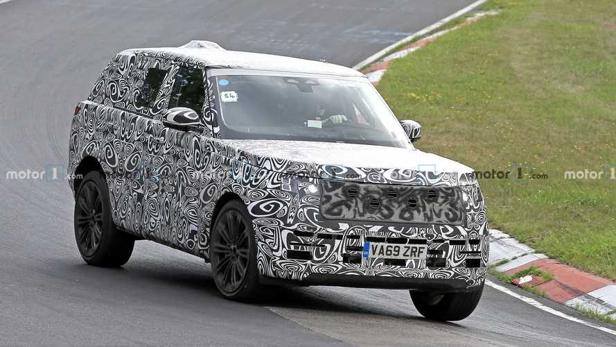2022 Land Rover Range Rover spy photos