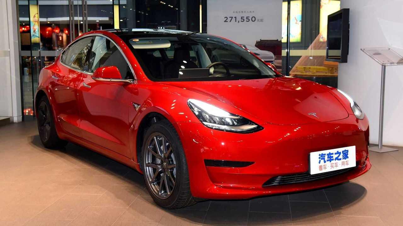 Tesla Model 3 - China - 3/4