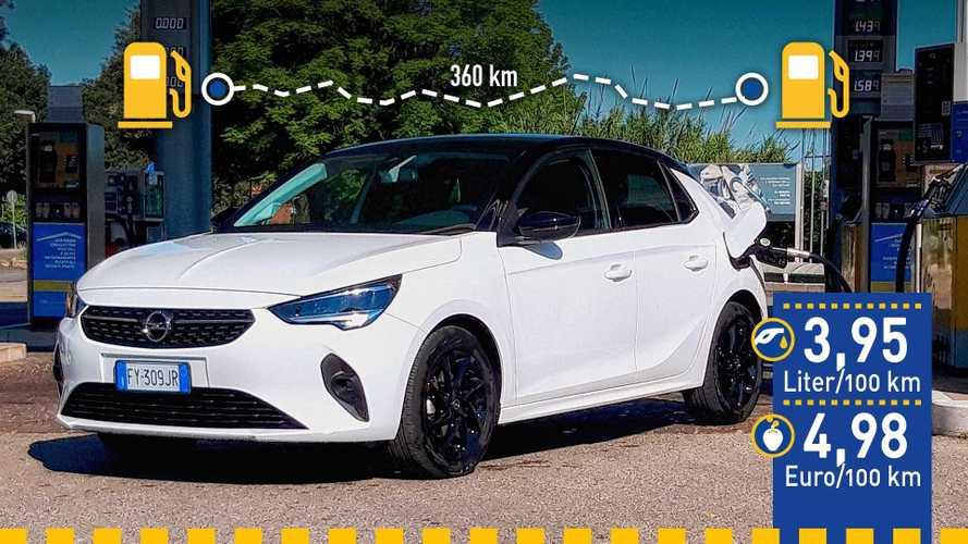 Opel Corsa (2020) im Verbrauchstest