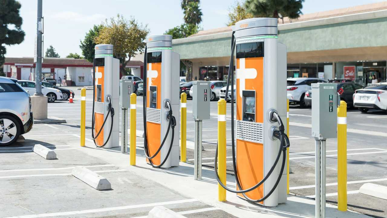 ChargePoint charging infrastructure