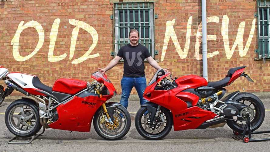 Watch A Guy Compare A Ducati 748R And A Panigale V2 In 2020