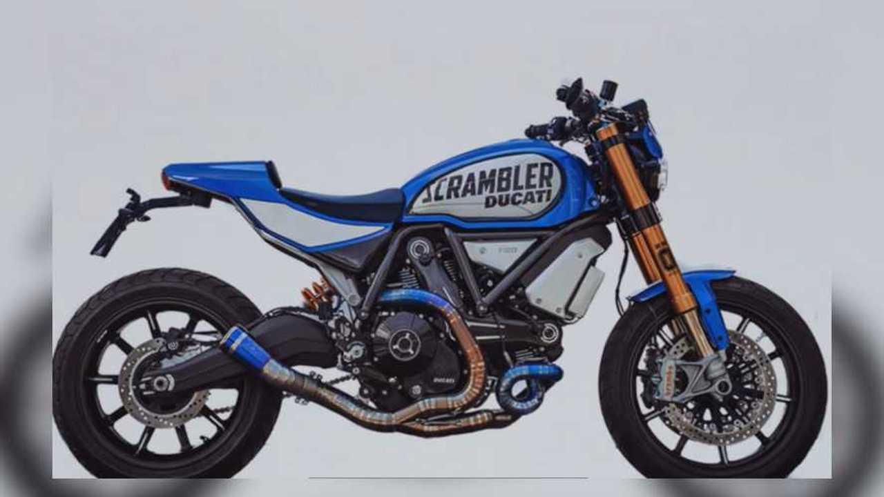 Bully Ducati Scrambler By Marco Graziani of CC Racing Garage