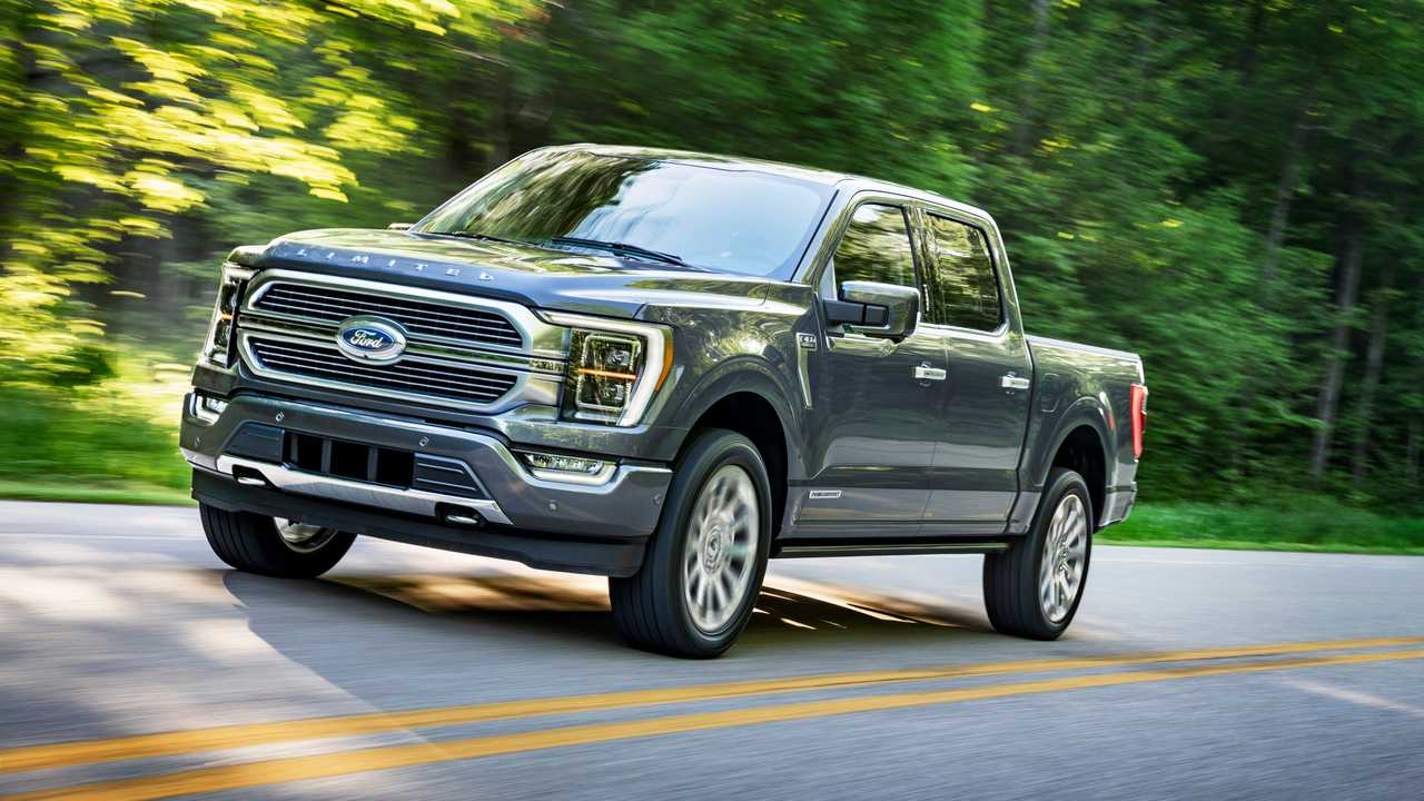 2021 Ford 150 Images