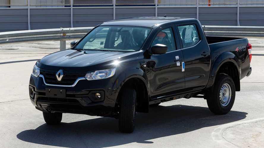 """Picape Renault Alaskan """"Made in Argentina"""" faz seus primeiros testes pré-série"""