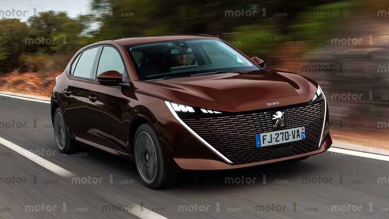 2021 Peugeot 308 render