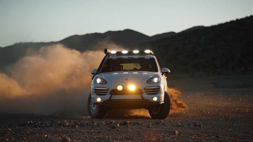 Watch This Porsche Cayenne Diesel Overlander Drive Like A Rally Car