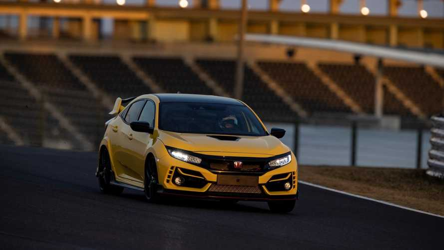 Watch 2021 Honda Civic Type R Limited Edition Hit 180 MPH