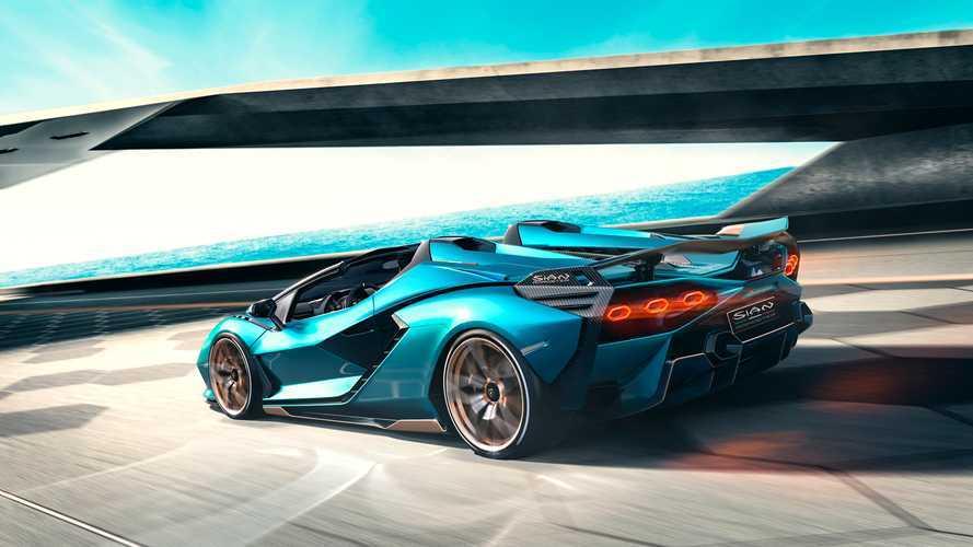 Lamborghini Sian Roadster - Seulement 19 exemplaires, tous vendus
