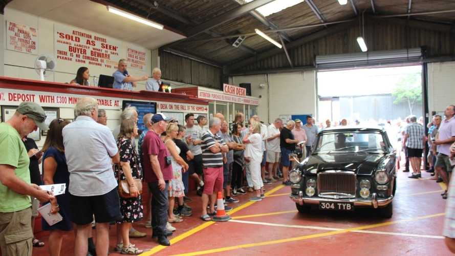 Market: £55m spent at UK classic car auctions in July!