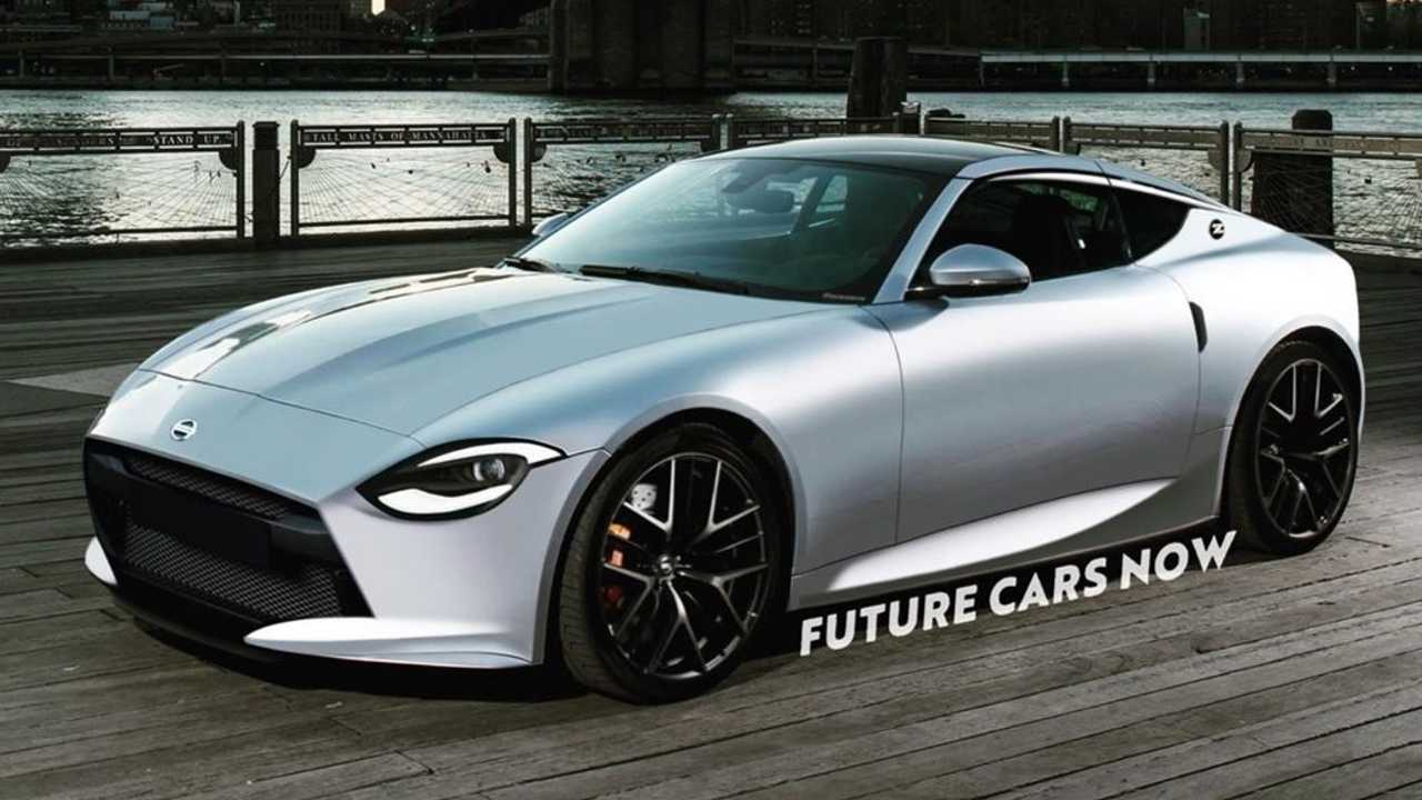 2021 Nissan 400Z rendering