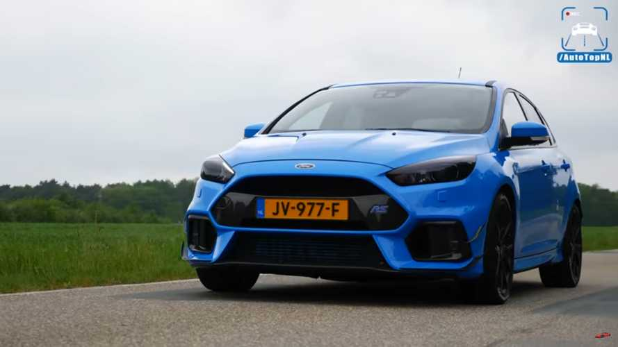 440 HP Ford Focus RS sounds peculiar but goes like hell