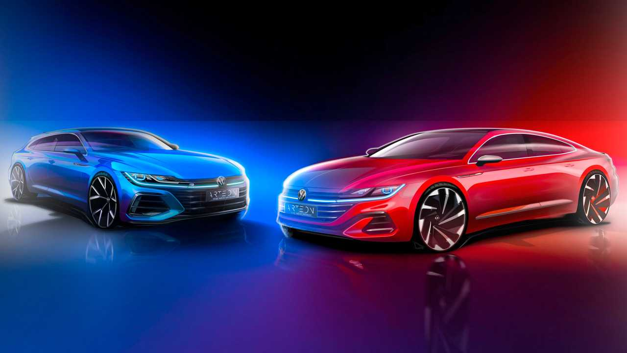 2021 VW Arteon teaser