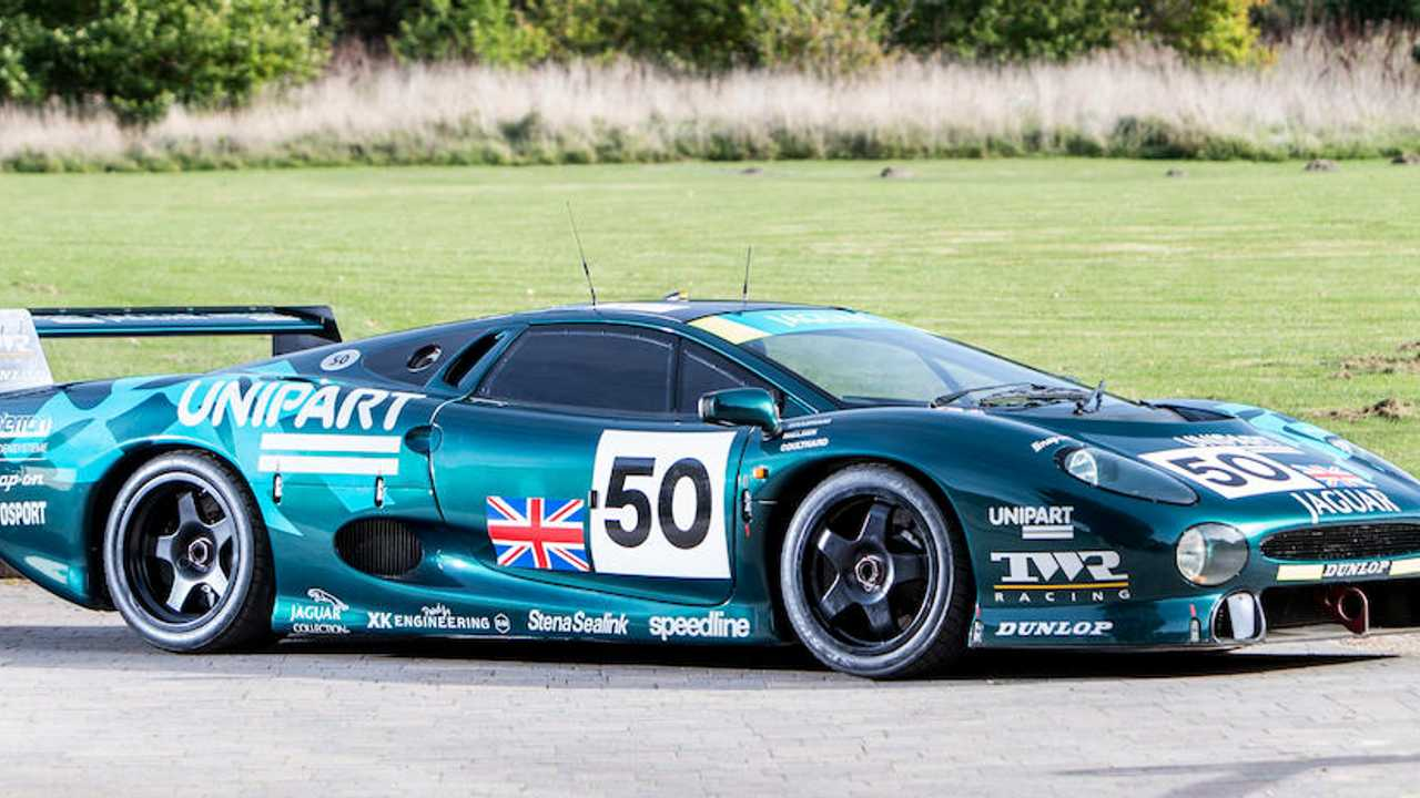Coulthard & Brabham's excluded Le Mans Jaguar up for auction