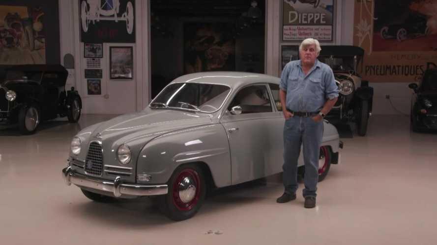 Classic Saab 93 returns to Jay Leno's Garage