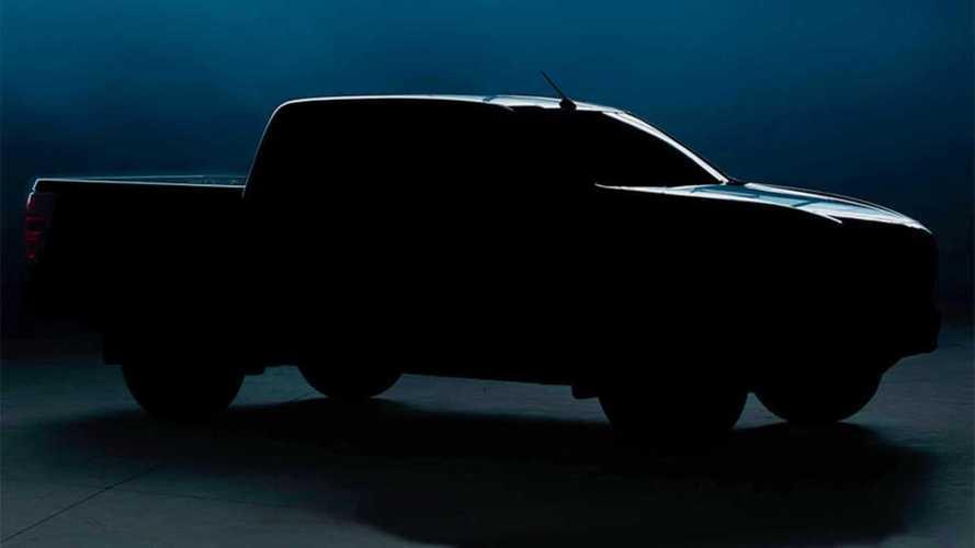 Пикап Mazda BT-50 нового поколения: первый тизер