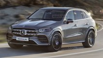 2022 Mercedes GLC rendering