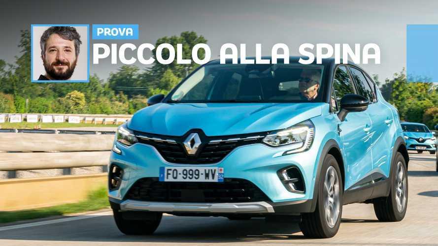 Renault Captur E-Tech, la prova del SUV piccolo plug-in
