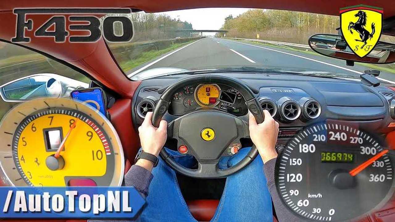 Ferrari F430 videó