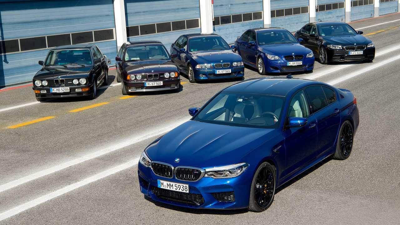 BMW M5: все поколения