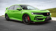 Next-Gen Honda Civic Type R Rendering By Motor1.com
