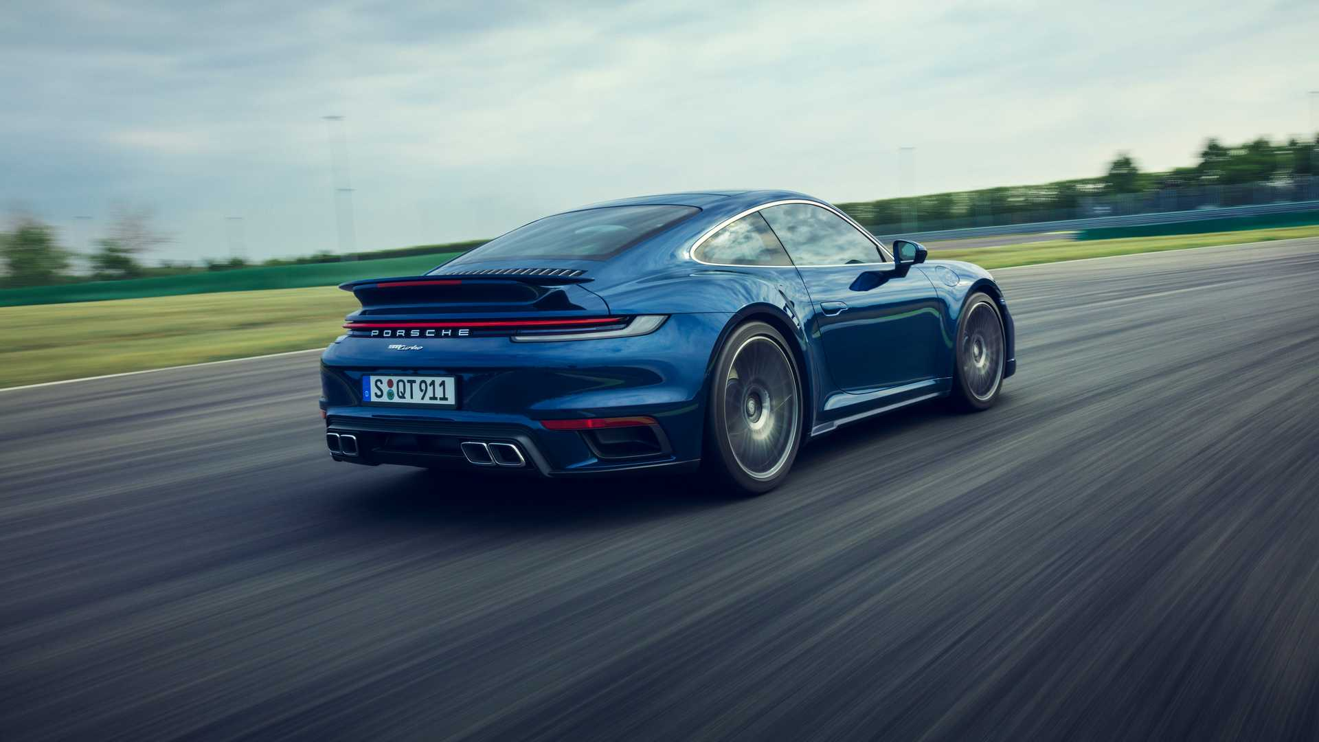 Porsche 911 Turbo Coupe 2020