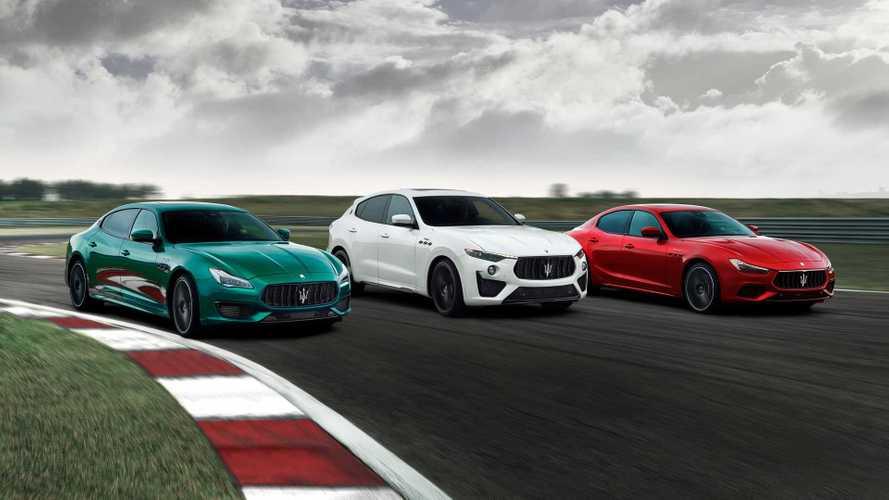 Maserati Ghibli ve Quattroporte Trofeo V8 motorla geldi